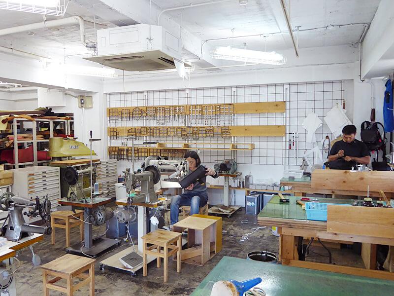 大阪店 製作風景