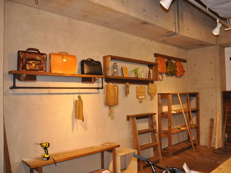 名古屋店のお店作り
