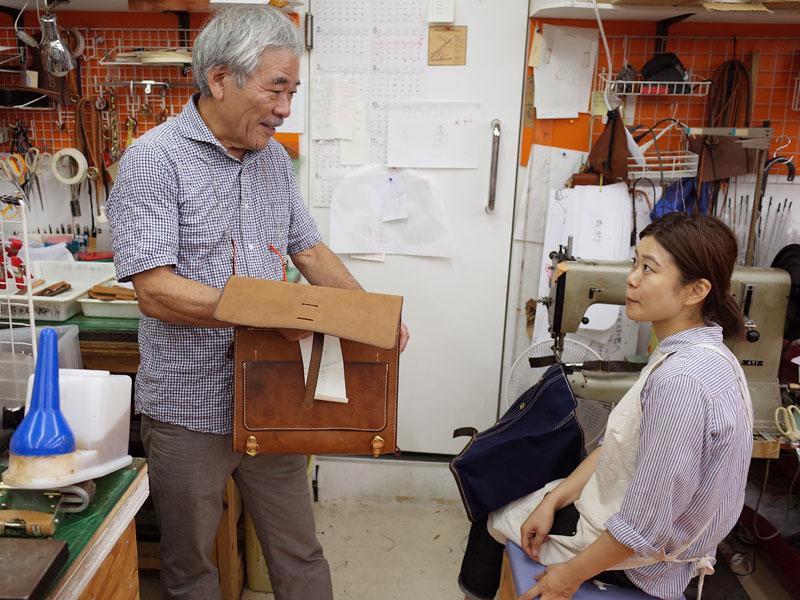 創業者の近藤と作り手のムネカタ