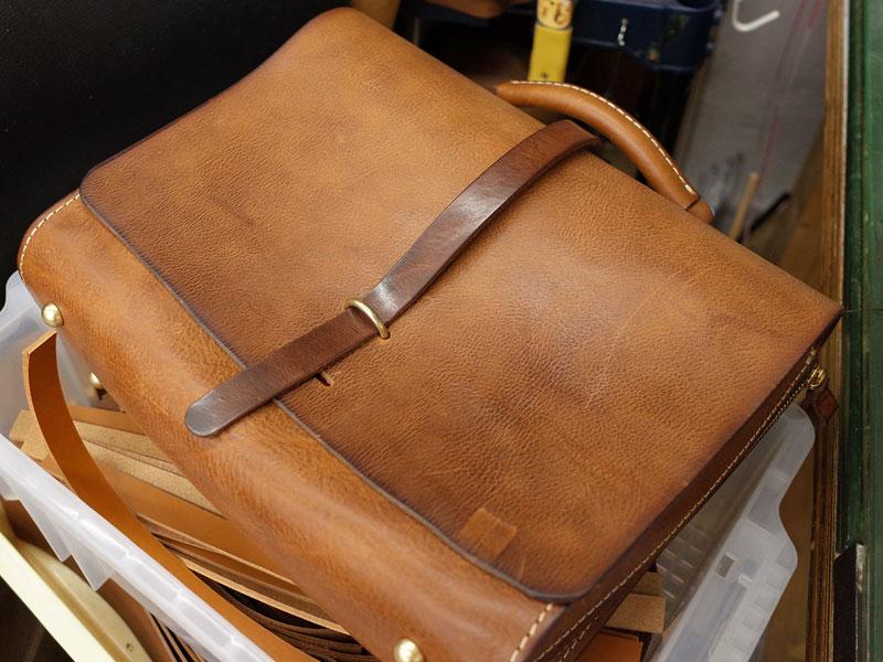 水かきマチの3wayバッグサンプル品