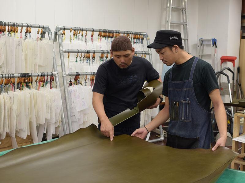 仙台店の作り手:増澤と西川