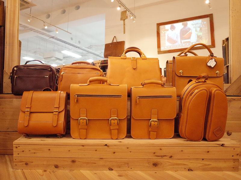 クラシカルな復刻鞄たち