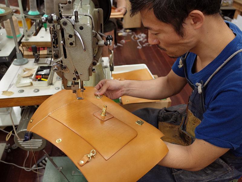 ナレッジバッグのセミオーダー品を製作中
