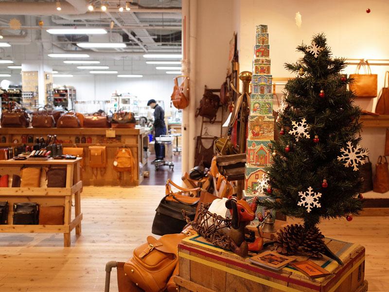 本店クリスマスディスプレイ3
