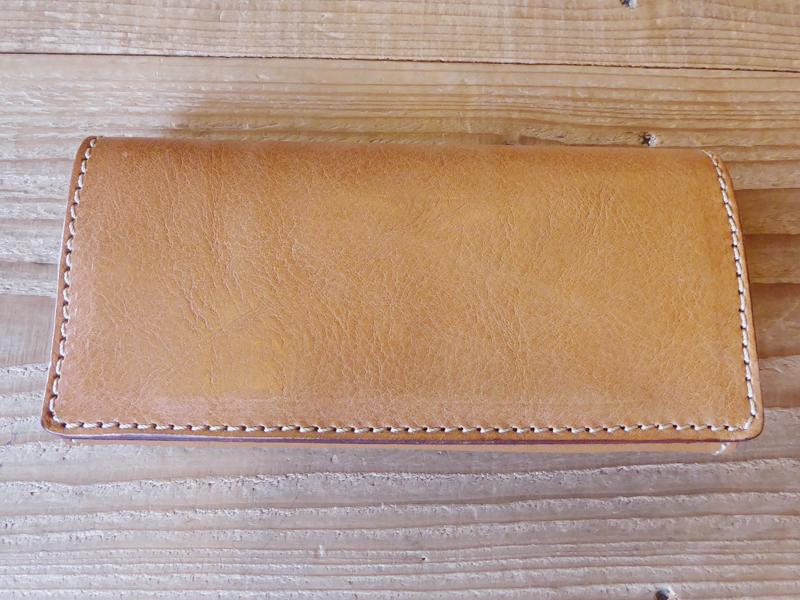 ソフトレザーの長財布(WL-63)特別仕様