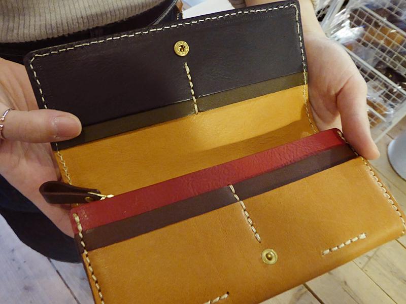 ソフトレザーの長財布(WL-63) 特別仕様