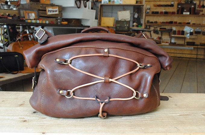 第五弾は大阪店作り手:内藤のタンドー丸紐メッセンジャーバッグ