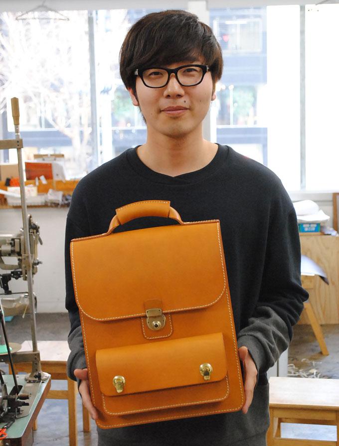 大阪店スタッフ:松本 圭佑の3周年記念バッグ