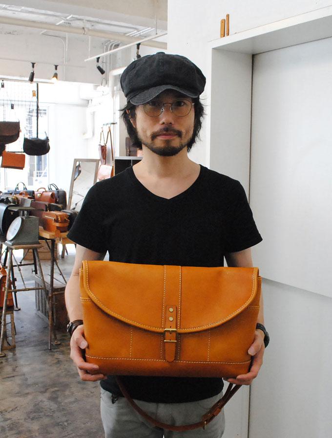 大阪店作り手:松本の3周年記念バッグ