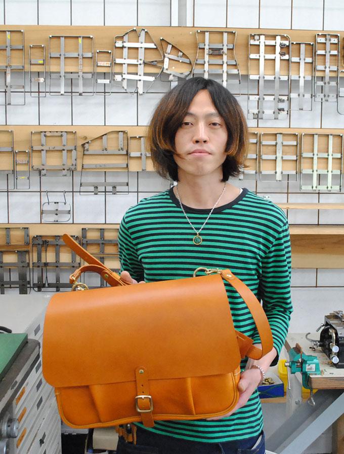 大阪店カット兼作り手:今井3周年記念バッグ