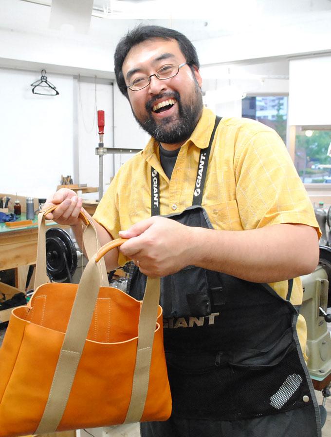 大阪店作り手:根本3周年記念バッグ
