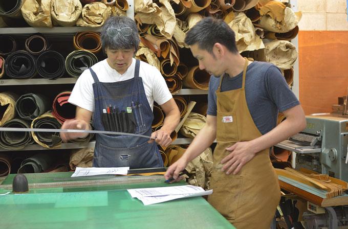 鈴木と作り手:セイジ