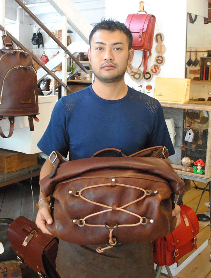 大阪店作り手:内藤3周年記念鞄