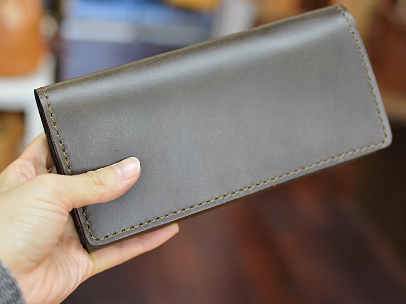プルアップレザー 長財布