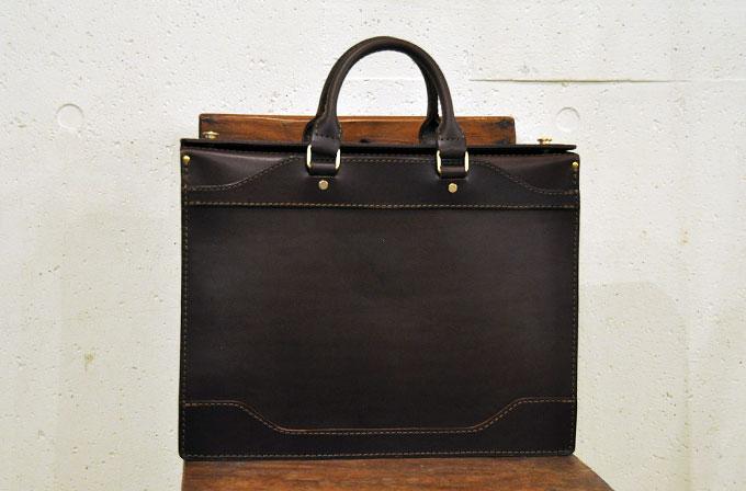 Organブライドルビジネスバッグ