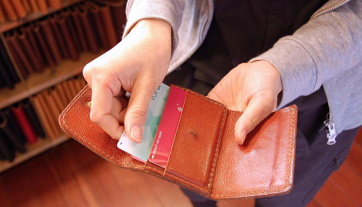 スタッフ愛用品:Organ小型財布