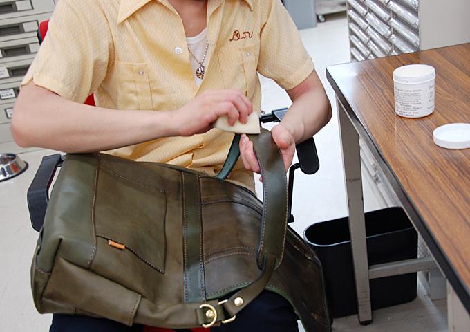 スタッフ愛用品:メッセンジャーバッグ 愛用法3