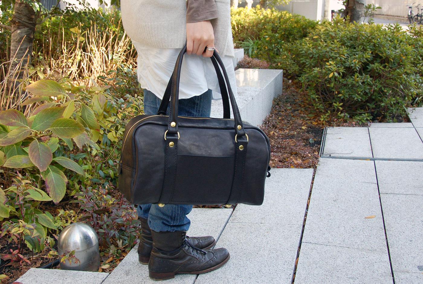 その3. 普段使いのミニボストンバッグ