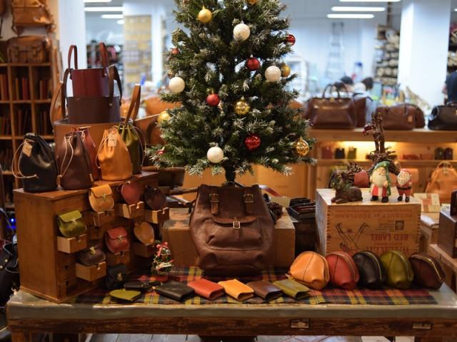本店2015クリスマスディスプレイ