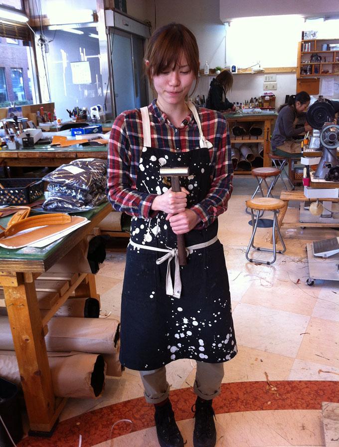 意外に男前な鞄を作る、作り手:松尾の場合