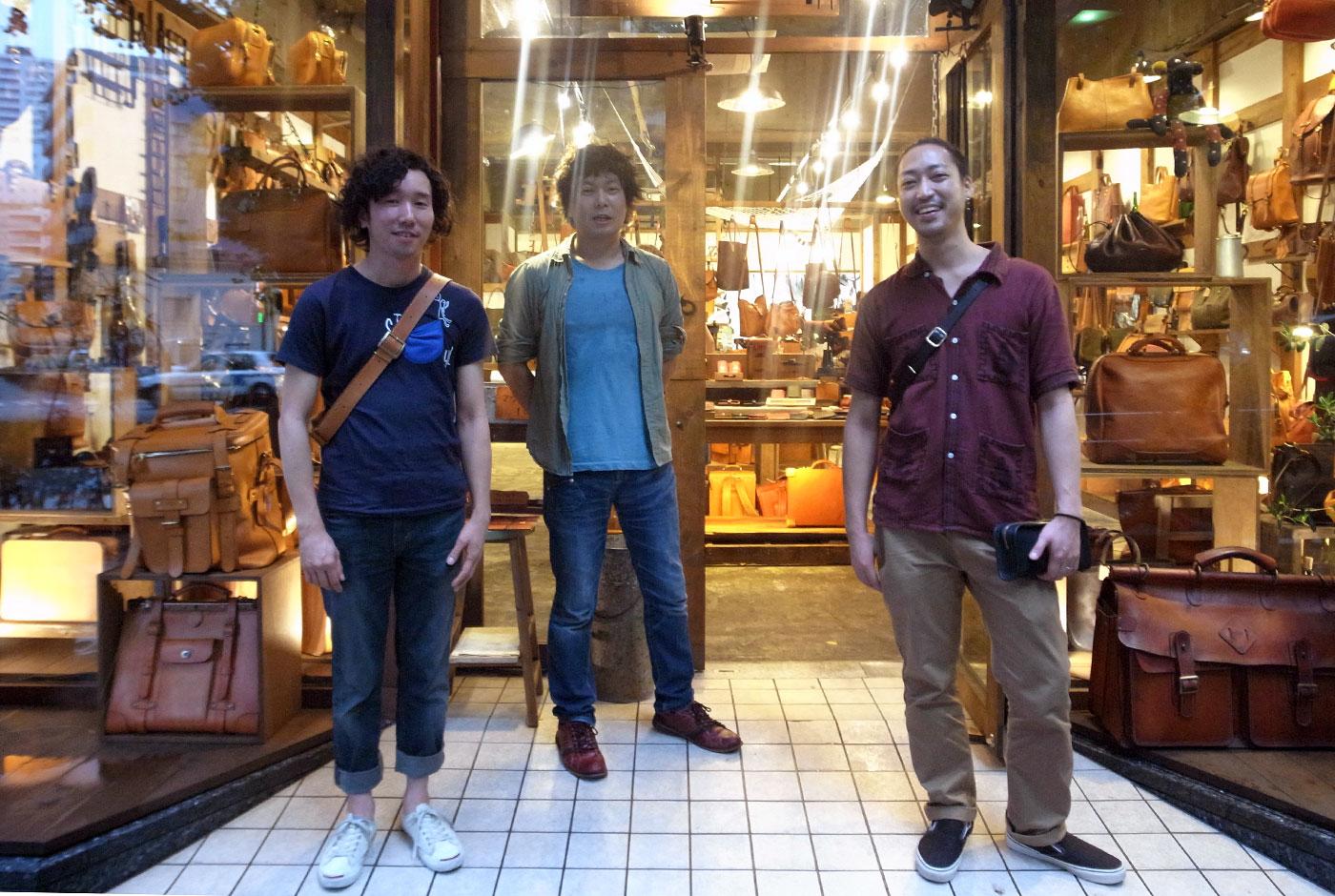 本店の作り手とオンラインスタッフが仙台出張へ