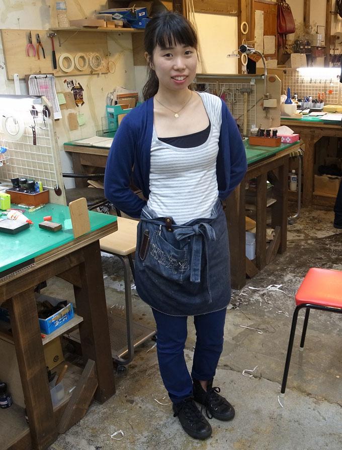 続いては、仙台店作り手の紅一点:青木