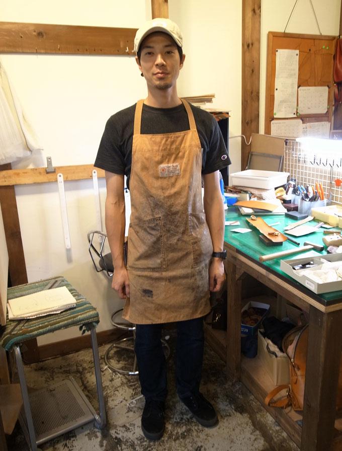 本店作り手:西川にそっくりと噂の、作り手:庄子