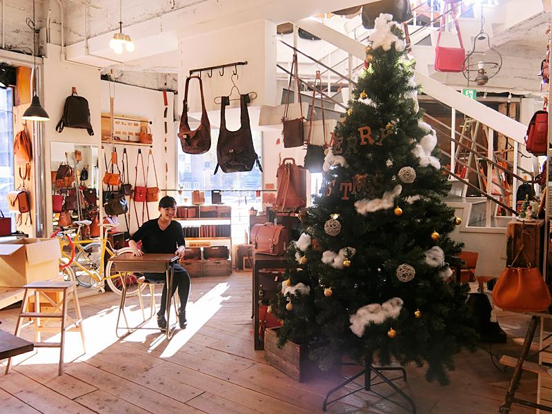大阪店 クリスマスの様子
