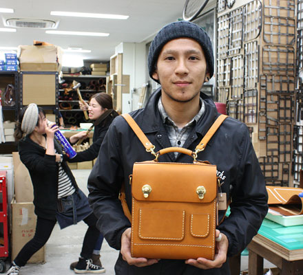 【贈り物】:ミニ3way鞄