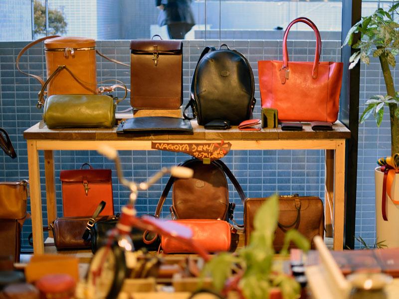 名古屋サンプル鞄たち