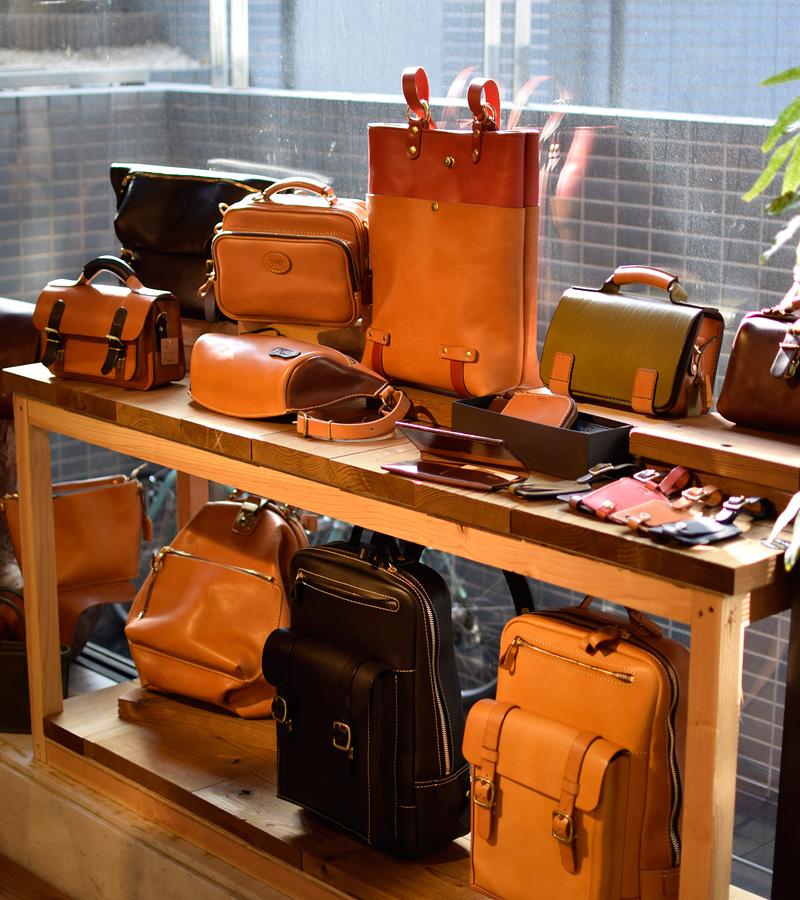 名古屋のサンプルバッグたち