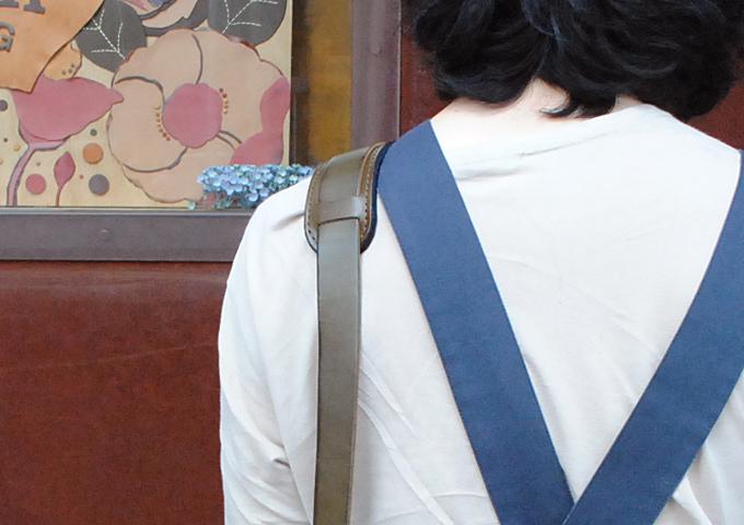 スタッフ愛用品:横型2wayトートバッグ 愛用法2