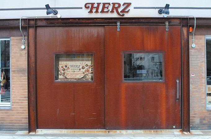 現在の錆鉄の扉