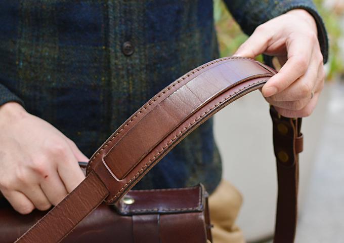 スタッフ愛用品: 学生鞄風・2wayビジネスバッグ 愛用法2