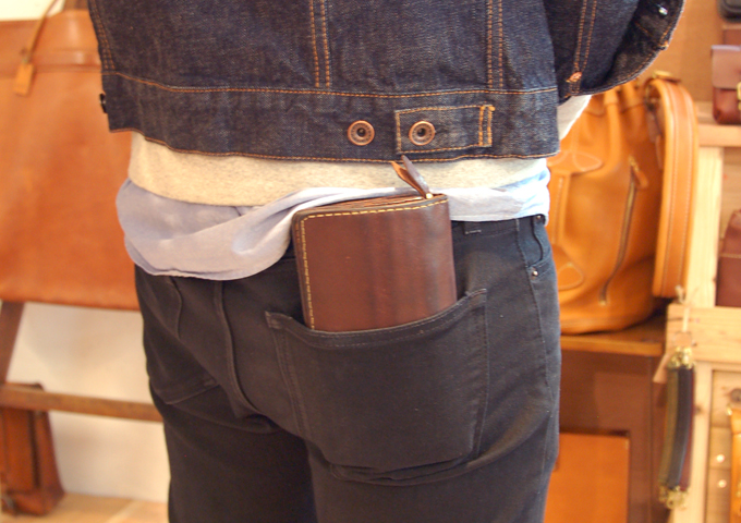 スタッフ愛用品:ジャバラ長財布 愛用法2