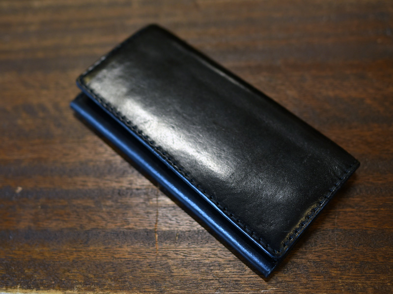 雑誌掲載モデル:カード収納に強い長財布(WL-56)