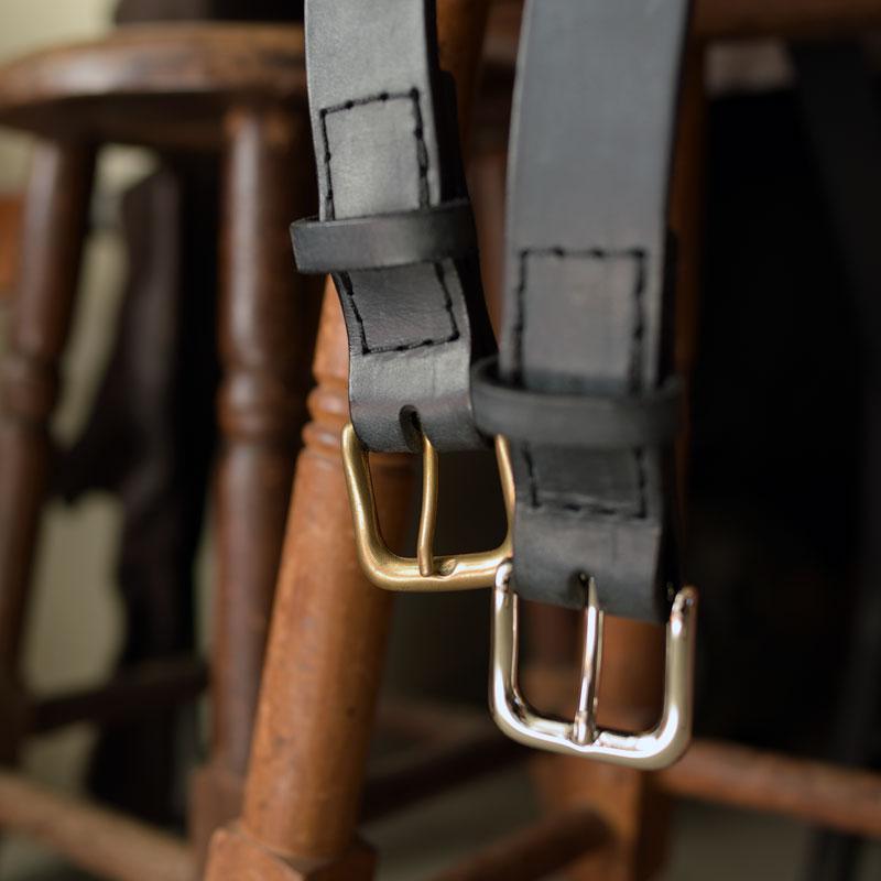 サイズオーダーで作るイタリア革のベルト販売予告