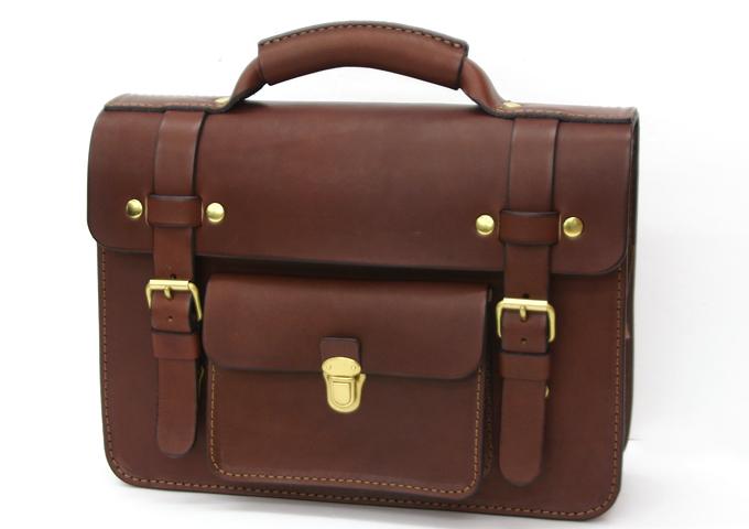 スタッフ愛用品: 学生鞄風・2wayビジネスバッグ 新品