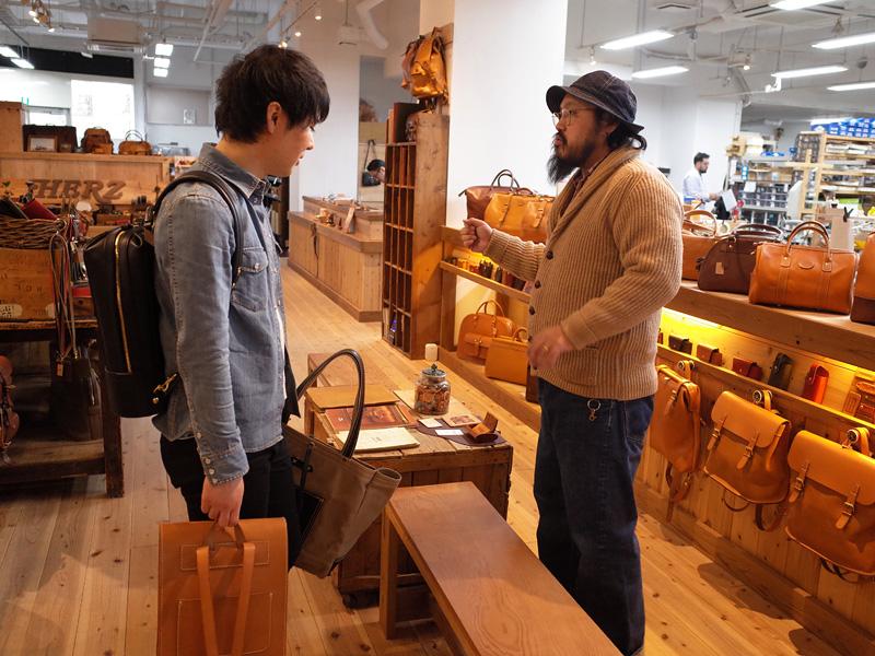 本店の鈴木と金澤