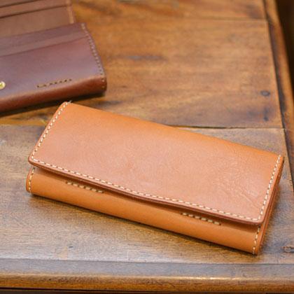ソフトレザーの長財布