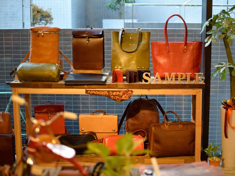 第二弾!!名古屋生まれのサンプル鞄たち
