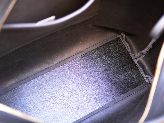 シンプルファスナートートバッグ 作り手:佐藤 底板