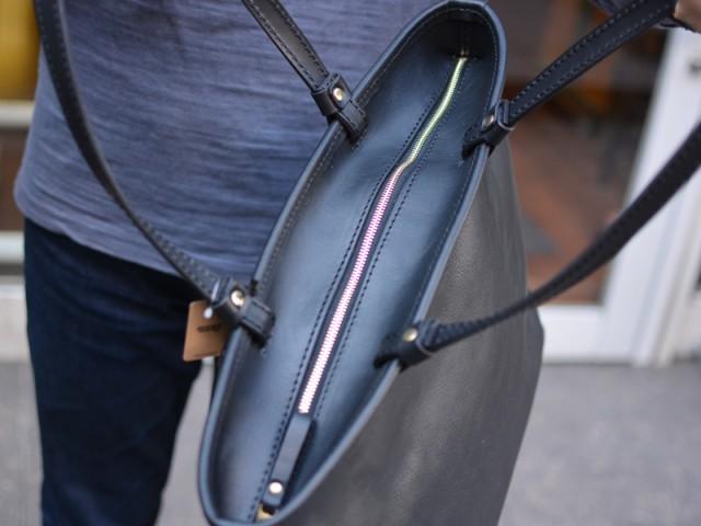 シンプルファスナートートバッグ 作り手:佐藤 ファスナー