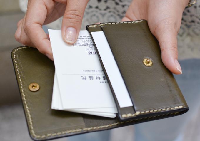 スタッフ愛用品:カードケース・名刺入れ 愛用法1