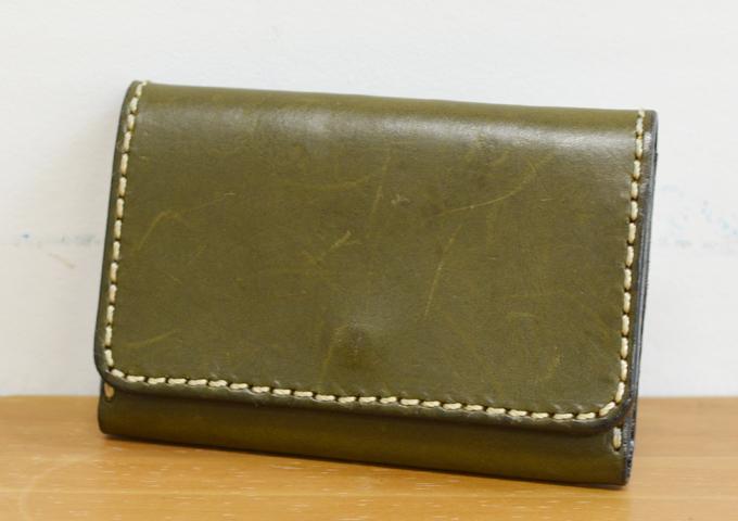 スタッフ愛用品:カードケース・名刺入れ 一年使用