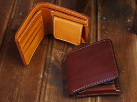 二つ折り財布(レザーウォレット)一覧へ