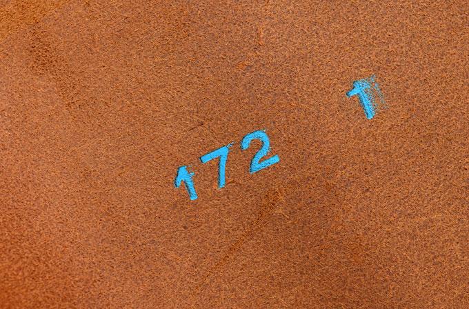 デシ数の刻印