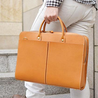 二本手2wayビジネスバッグ