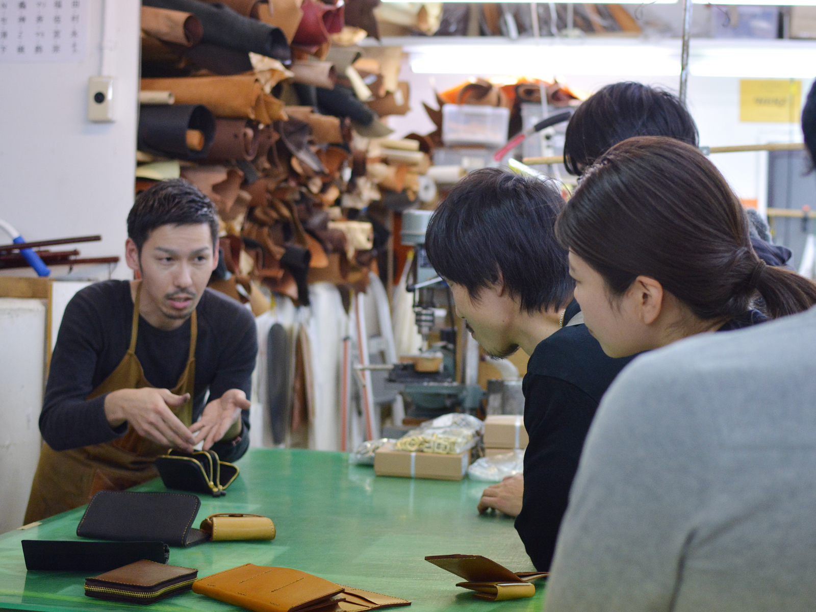 FACTRY SHOP お財布企画 品評会
