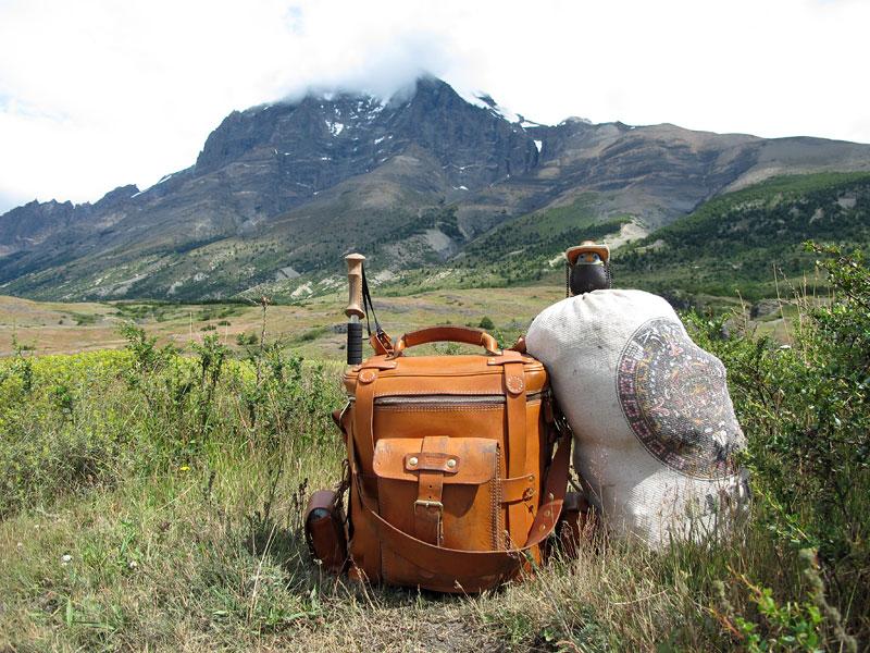 パイネ国立公園とHERZ鞄